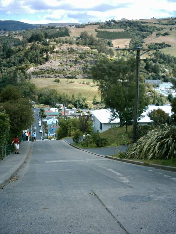 Dunedin world's steepest street