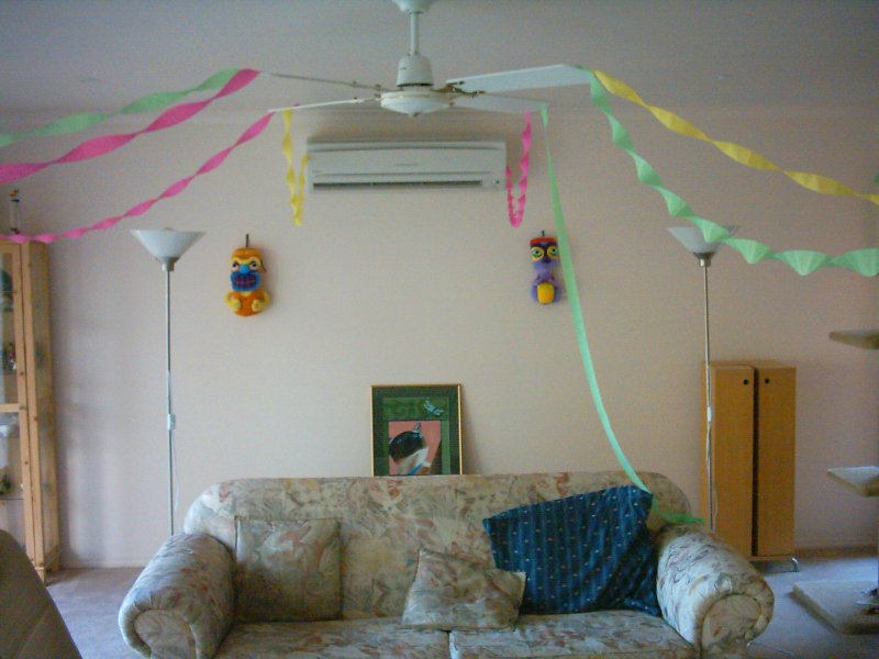 Hahndorf Birthday party decorations