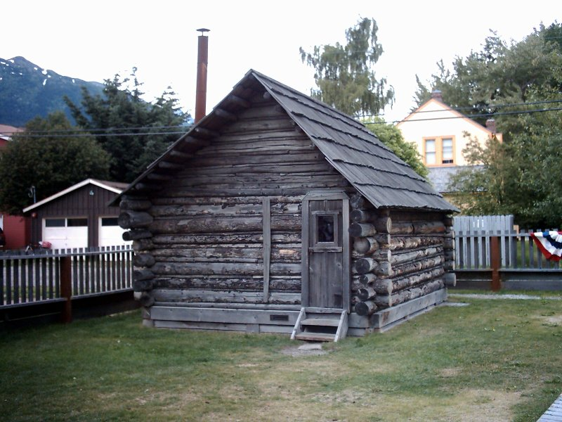 Skagway Captain Moore's Log Cabin