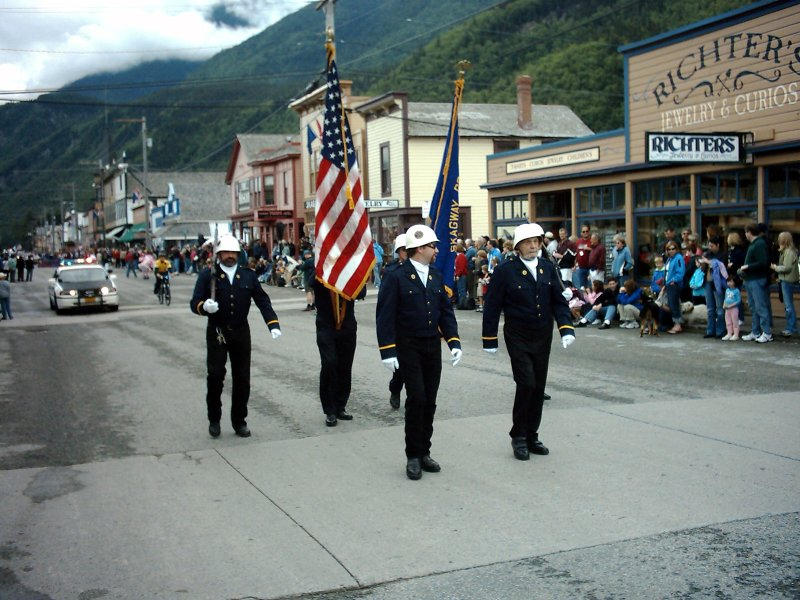 Skagway Independence Day Parade 01