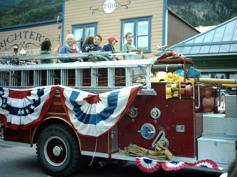 Skagway Independence Day Parade 32