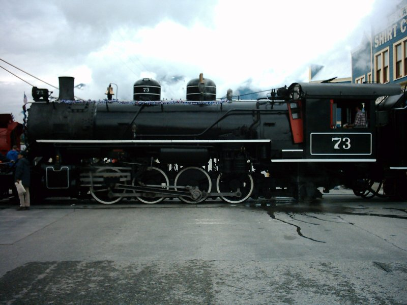 Skagway Steam Locomotive 1