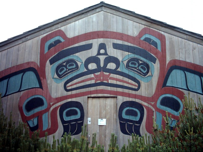 Ketchican Beaver Clan Lodge Exterior
