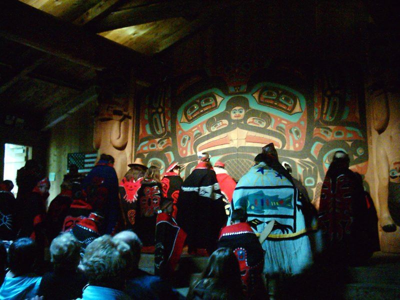 Ketchican Beaver Clan Lodge Robes