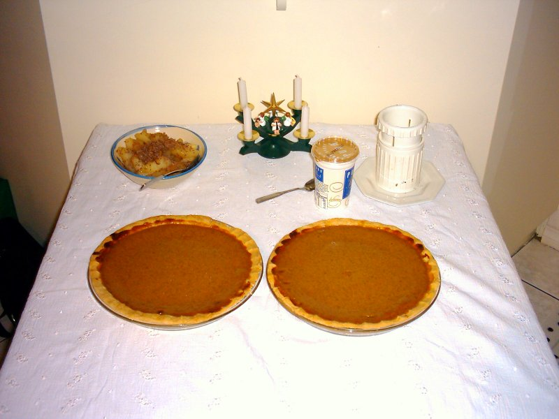 Hahndorf Thanksgiving Pumpkin Pies