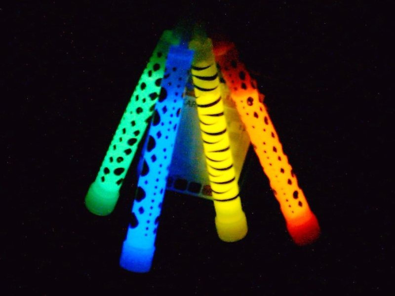 Melbourne MiDfur Rave glowsticks
