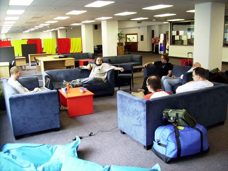 Wellington UStay common room