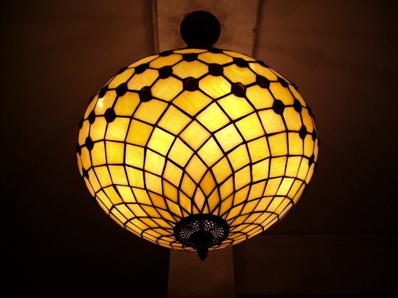 San Francisco Internet Archive lampshade