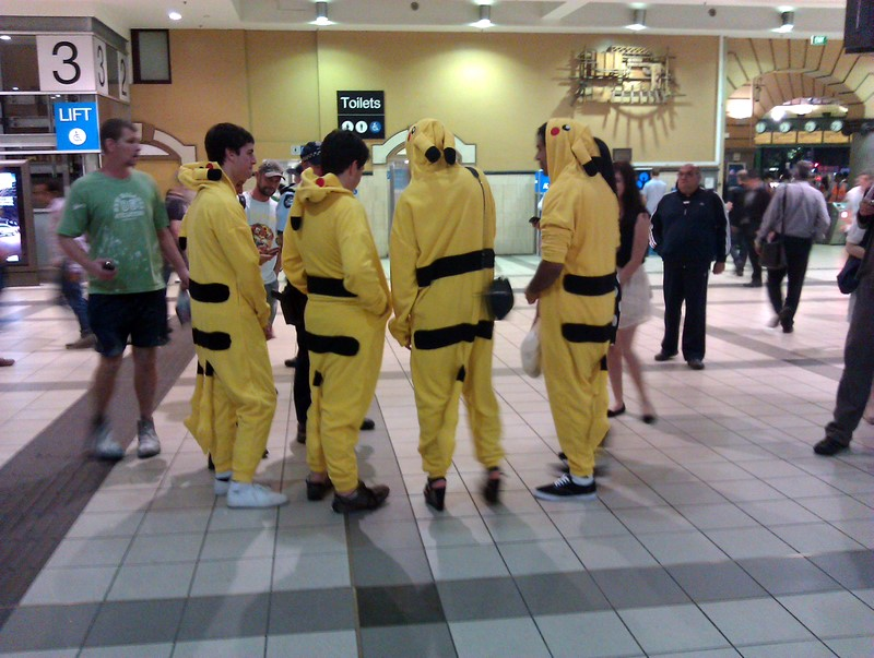 Melbourne Five Picachu tails