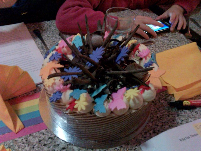 Northcote Wild Yak Muse birthday cake